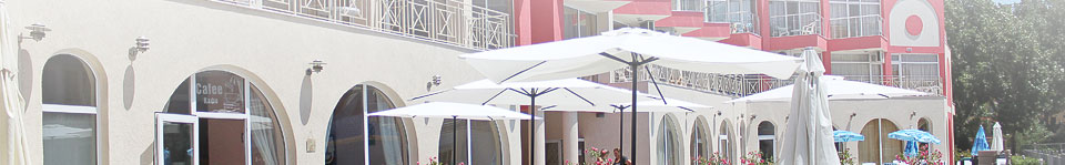 Apart hotel in Sunny Beach resort, Bulgaria